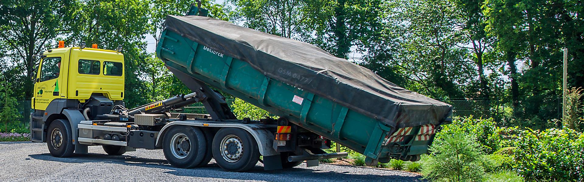 Containerverhuur - Groenbedrijf Limburg